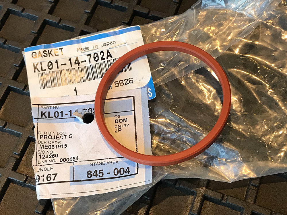 Mazda Miata Car Cover >> Oil Cooler O-Ring Gasket – 1989-2005 Mazda Miata KL01-14-702A – Project-G