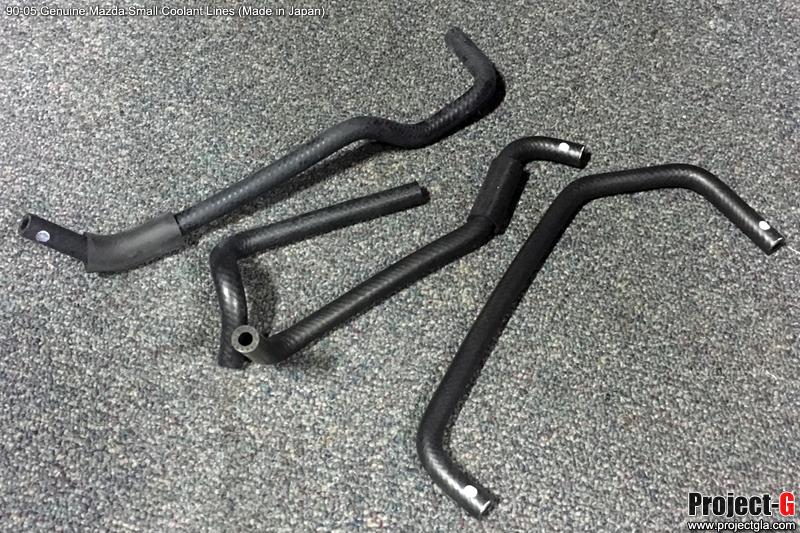 Genuine Mazda Small Coolant Lines KIT (4pc) - 1989-2005 Mazda Miata