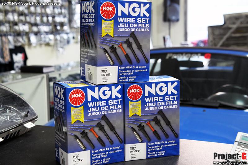 1 New NGK Premium Spark Plug Wire Set ZE21 Mazda Miata 9160